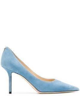Jimmy Choo Love 85mm pointed-toe pumps - Blue