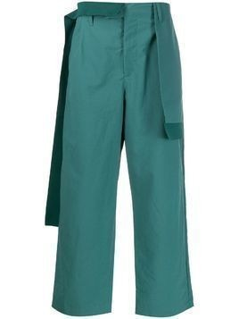 Craig Green draped-panel straight trousers