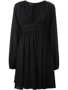 Giambattista Valli V neck circle dress - Black