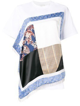 3.1 Phillip Lim Patchwork T-Shirt - White