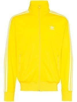 Adidas striped track jacket - Yellow