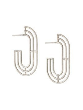 Charlotte Valkeniers Minim earrings - Silver