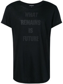 Ann Demeulemeester What Remains is Future T-shirt - Black