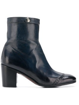 Alberto Fasciani Windy heeled ankle boots - Blue