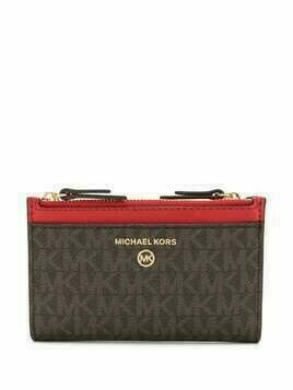 Michael Michael Kors Jet Set wallet - Brown
