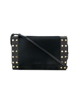 Isabel Marant Nicia pony crossbody bag - Black