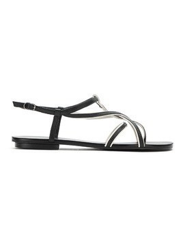 Studio Chofakian leather strappy sandals - Black