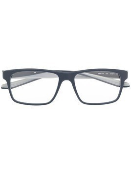 Nike 7101 rectangular-frame glasses - Blue