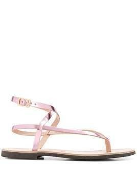 P.A.R.O.S.H. Ecly strappy sandals - PINK