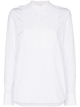 Chloé bobble detail poplin shirt - White