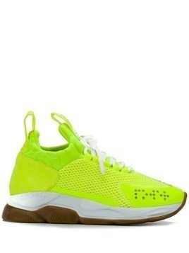 Versace Cross Chainer sneakers - Yellow