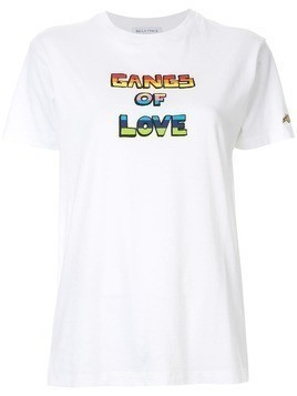 Bella Freud 'Gangs of Love' t-shirt - White