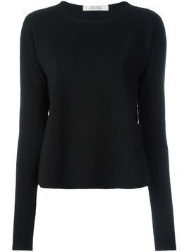 Dorothee Schumacher sash detail sweater - Black