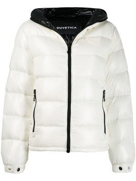Duvetica hooded padded jacket - White