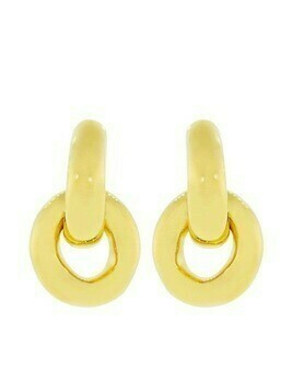 Lizzie Fortunato Jewels Mini Link earrings - Gold