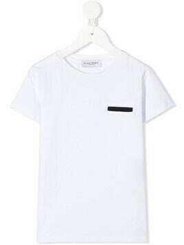 Paolo Pecora Kids stripe-detail T-shirt - White
