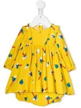 Stella McCartney Kids geometric print dress - Yellow