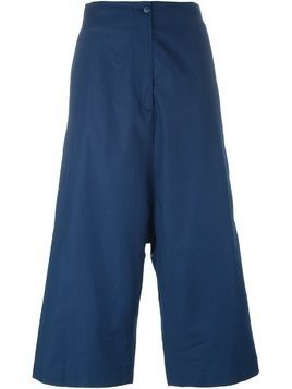 I'M Isola Marras cropped drop crotch trousers - Blue