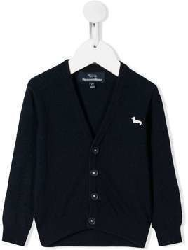 Harmont & Blaine Junior button down cardigan - Blue