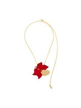 Marni floral necklace - Red