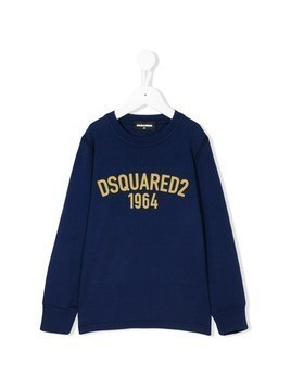 Dsquared2 Kids logo sweatshirt - Blue