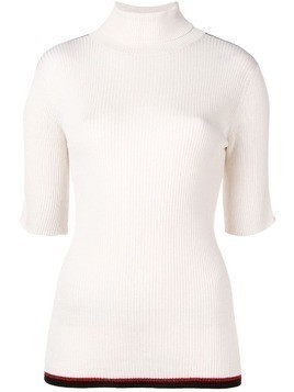 Cashmere In Love shortsleeved sweater - White
