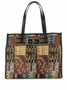 Etro paisley jacquard shopping bag - Multicolour