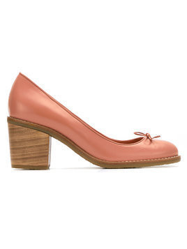 Sarah Chofakian leather pumps - Nude & Neutrals