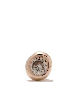 Wouters & Hendrix Gold 18kt gold diamond single earring - Pink Gold
