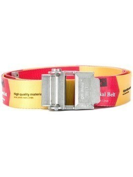 Off-White Industrial buckled belt - Red