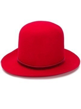 Ann Demeulemeester high hat - Red