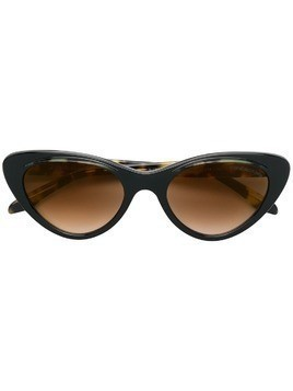 Cutler & Gross oversized cat eye sunglasses - Brown