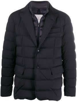 Moncler padded jacket - Blue