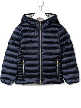 Ciesse Piumini Junior padded logo jacket - Blue