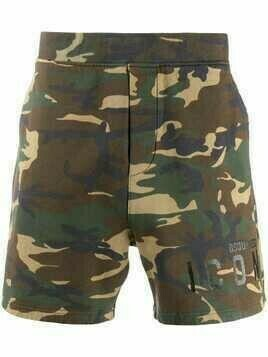 Dsquared2 camouflage-print Icon shorts - Green