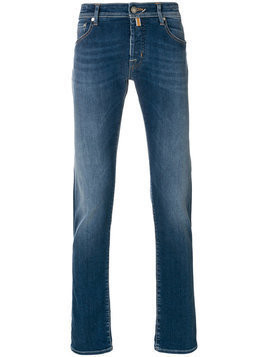 Jacob Cohen - slim-fit jeans - Herren - Cotton/Polyester/Spandex/Elastane - 33 - Blue