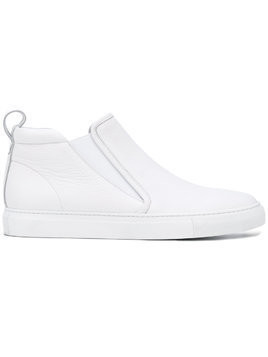 Aiezen slip-on sneaker boots - White