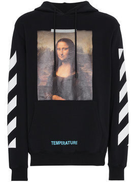 Off-White Mona Lisa print hoodie - Black
