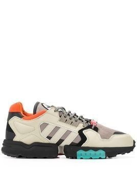 adidas colour block low-top sneakers - Grey
