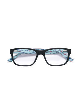 Lacoste Kids square shaped glasses - Black