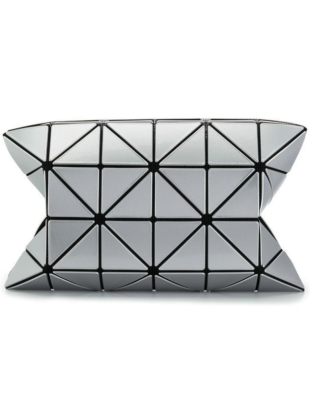Bao Bao Issey Miyake Lucent clutch bag - SILVER