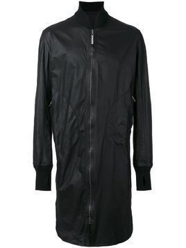 Isaac Sellam Experience long bomber jacket - Black