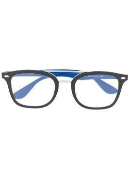 RAY-BAN JUNIOR square frame glasses - Black