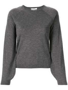 Co cashmere long-sleeved top - Grey