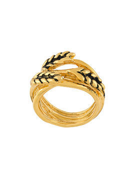 Aurelie Bidermann Wheat ring - Metallic