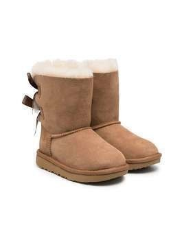 UGG Kids Bailey Bow II boots - Neutrals