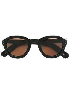 Lesca round shaped sunglasses - Black