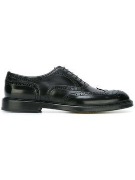 Doucal's classic brogues - Black