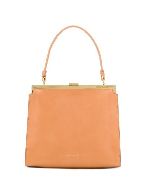 Mansur Gavriel twist-lock tote - Brown