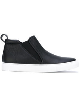 Aiezen mid-top slip-on sneakers - Black